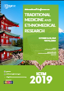International Conference on Traditional Medicine and Ethnomedical Research | Tokyo, Japan Book